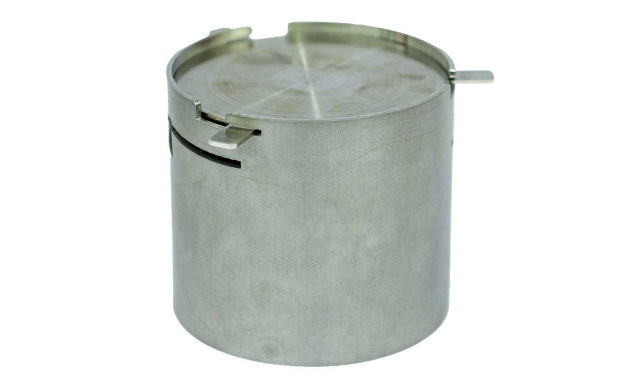 Axtschlag - Räucherbox aus Edelstahl