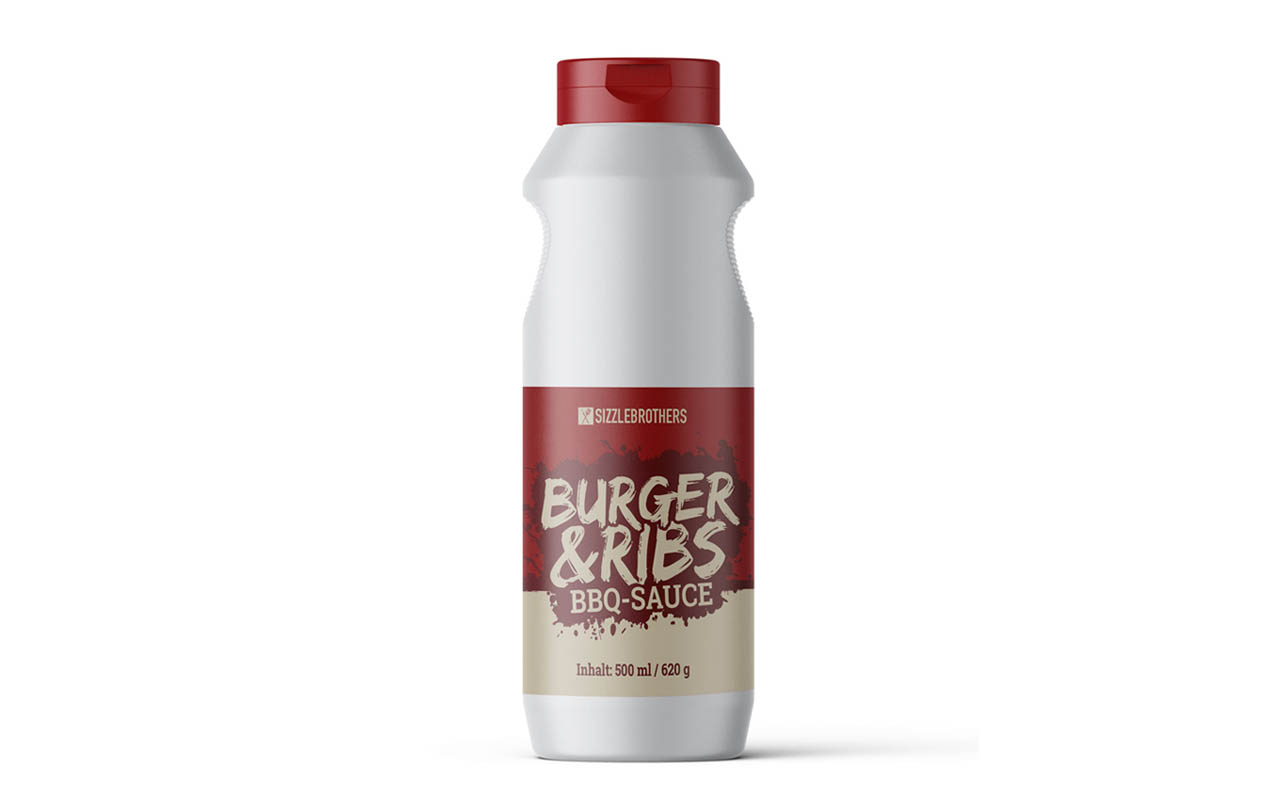 Sizzlebrothers  Burger And Ribs BBQ Sauce - 500ml