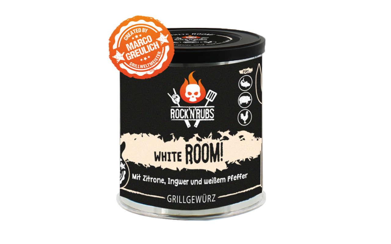 Rock 'n' Rubs - White Room