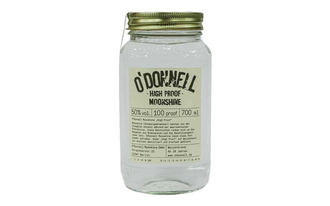 O'DONNELL MOONSHINE High Proof (50% vol.) 700 ml