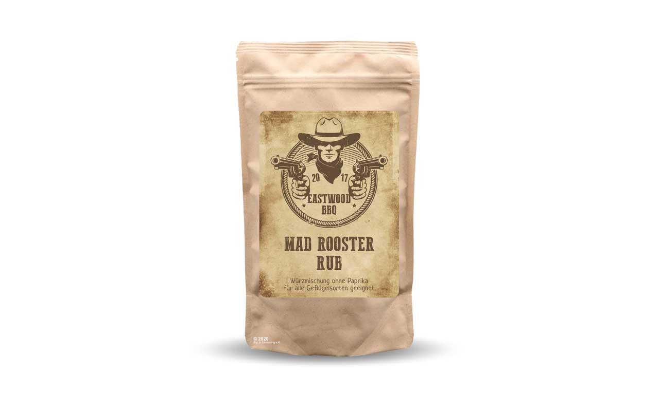 Eastwood BBQ - Mad Rooster Rub 100g Beutel