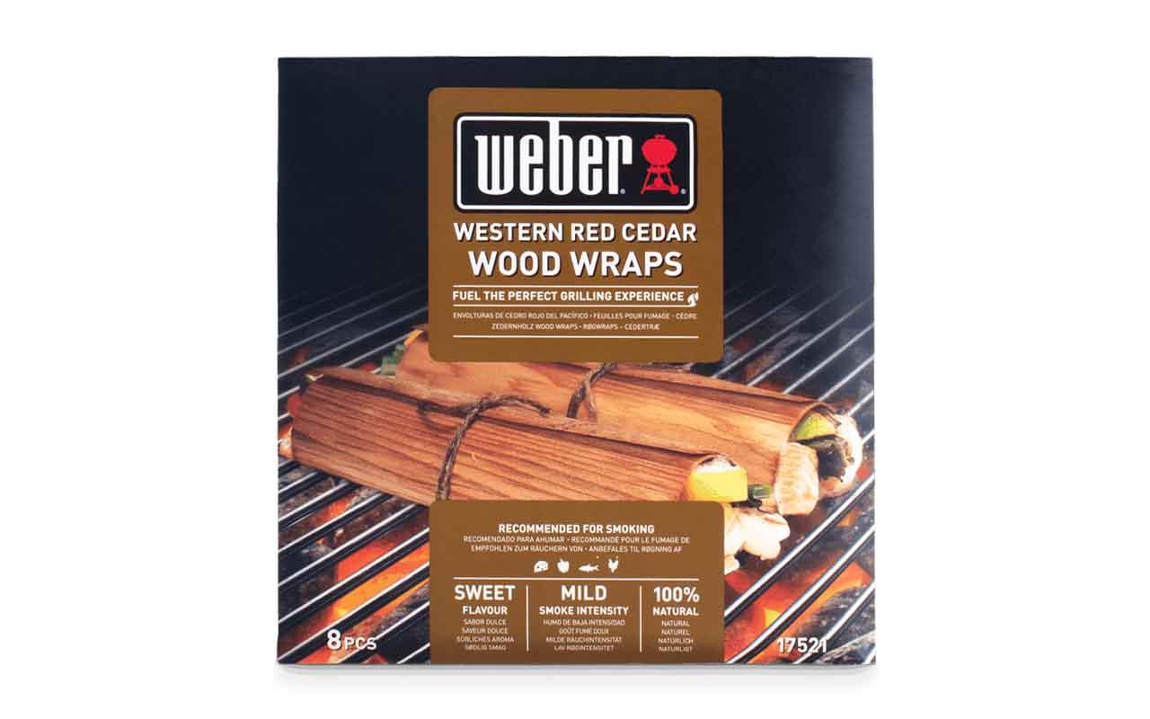 Weber  Wood Wraps Aus Zedernholz - 8 Stück Art.-Nr.: 17521