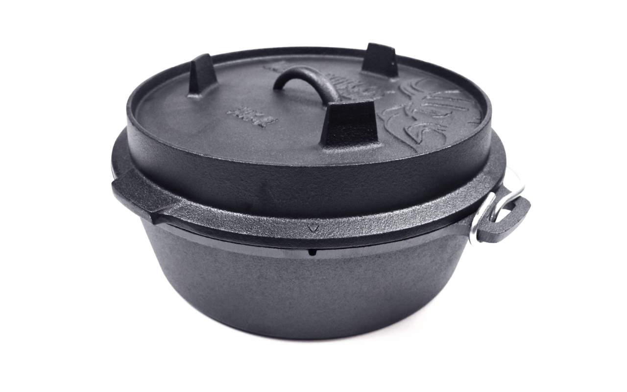 Valhal Outdoor Dutch Oven Feuertopf 6.1L (ohne Füße)