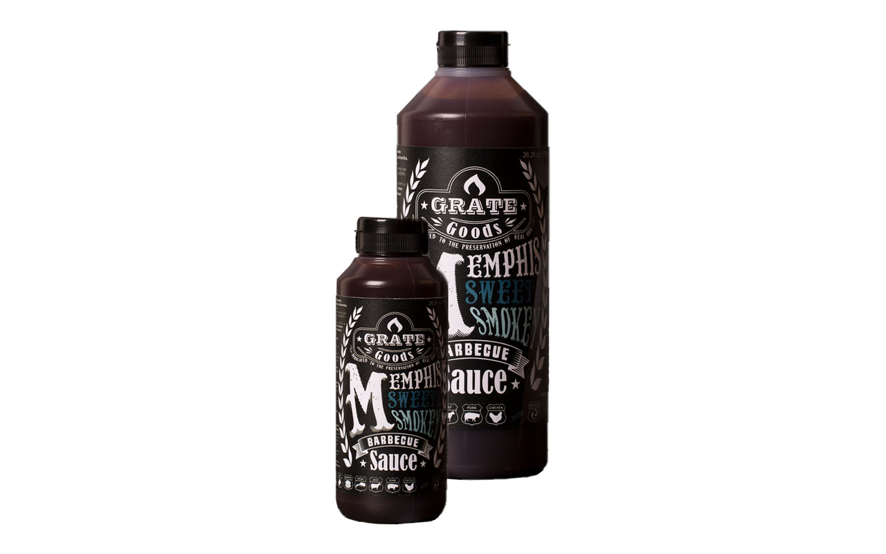Grate Goods - Memphis Sweet & Smoke BBQ Sauce 265g