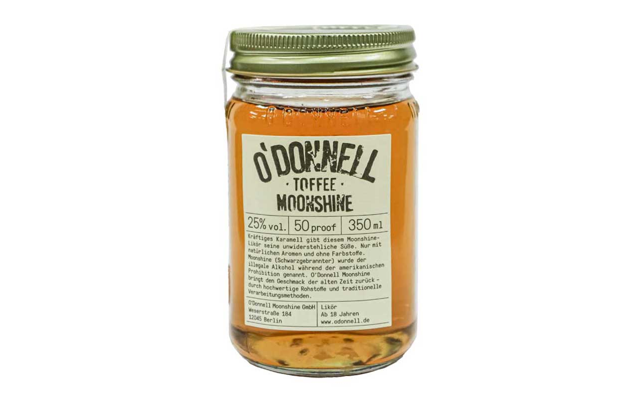 O'DONNELL MOONSHINE Toffee (25% vol.) 350 ml