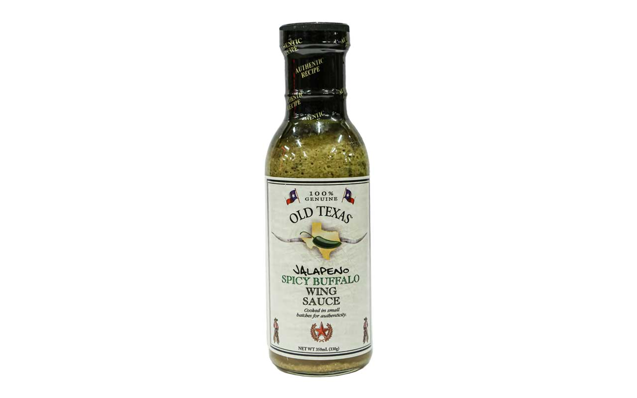 Old Texas - Jalapeno Spicy Buffalo Wing Sauce - 350ml
