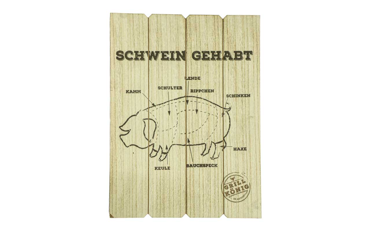 Grill König - Schwein Gehabt