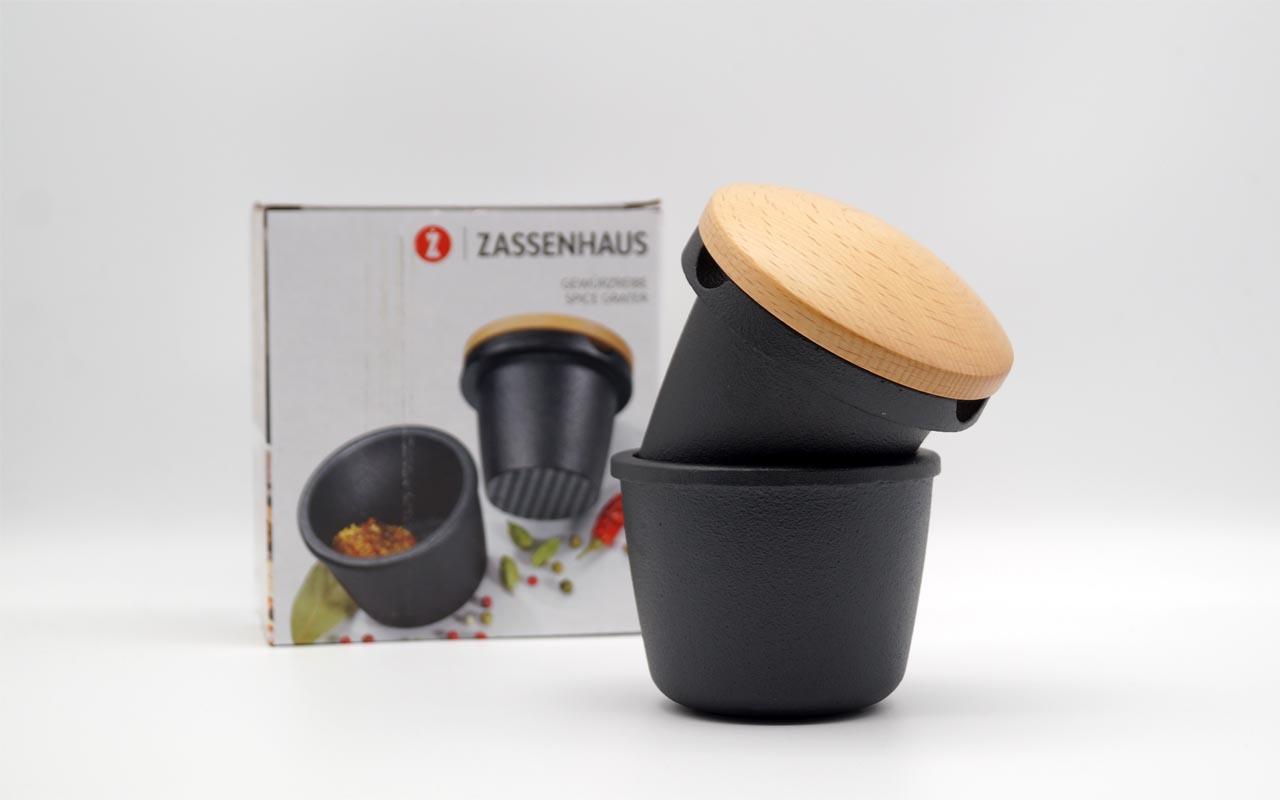 Zassenhaus - Gewürzreibe - Ø 8cm