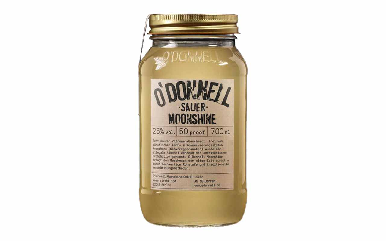 O'DONNELL MOONSHINE Sauer (25% vol.) 700 ml