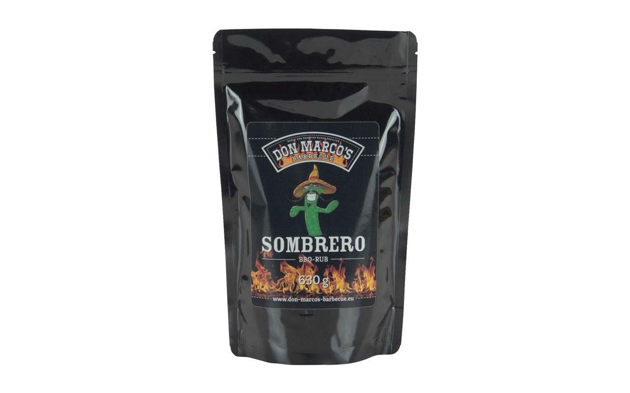 Don Marco's Sombrero BBQ Rub