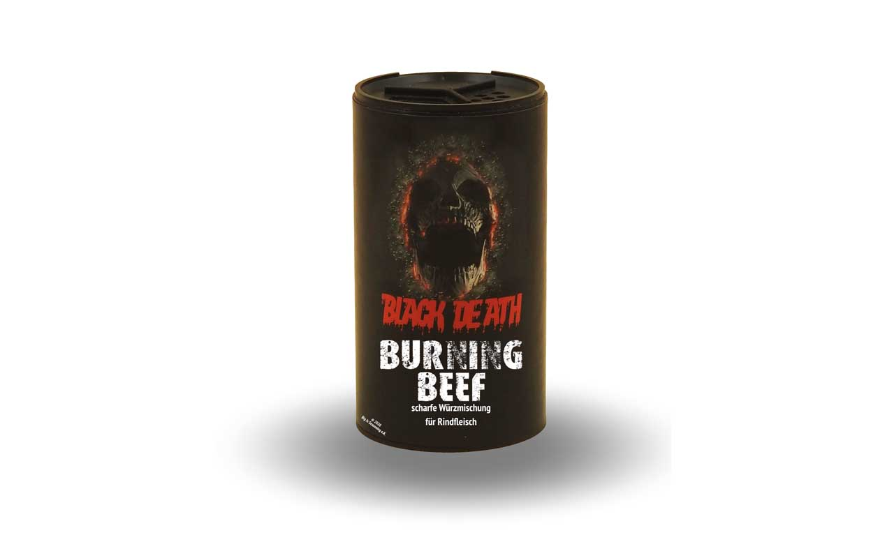 Black Death - Burning Beef 120g Streuer