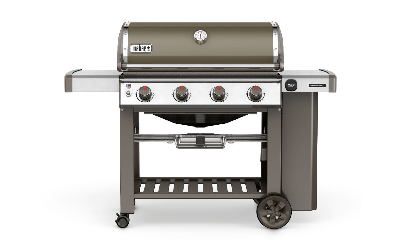 Weber Genesis II E 410 GBS Smoke Grey Art.Nr.:  62051179