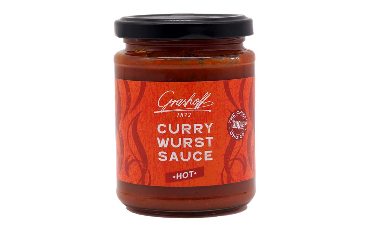 Grashoff Curry Wurst Sauce - Hot