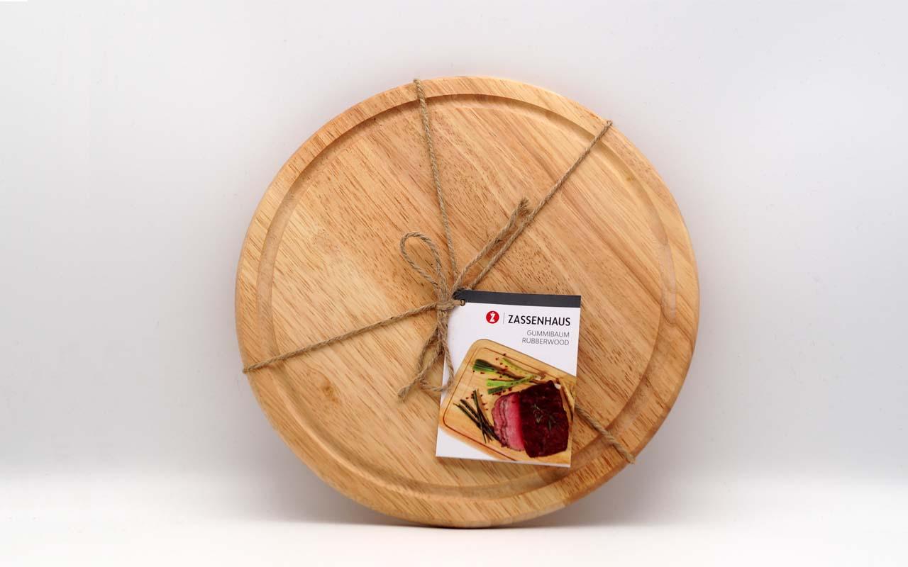 Zassenhaus - Käse-/ Steakplatte hell - Ø 25 cm