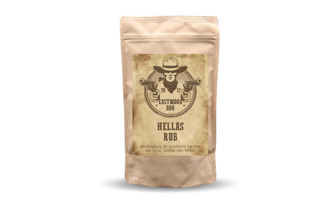 Eastwood BBQ - Hellas Rub  100g Beutel