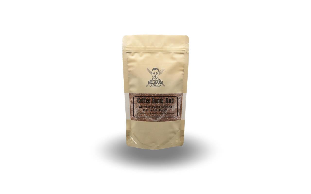 Klaus Grillt - Coffee Bomb Rub 250g Beutel