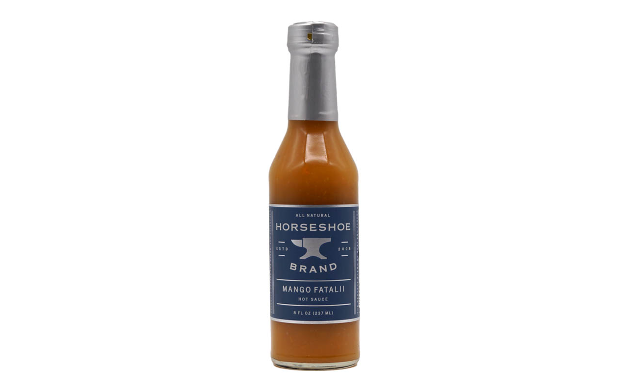 Horseshoe Brand Mango Fatalii Hot Sauce 237ml