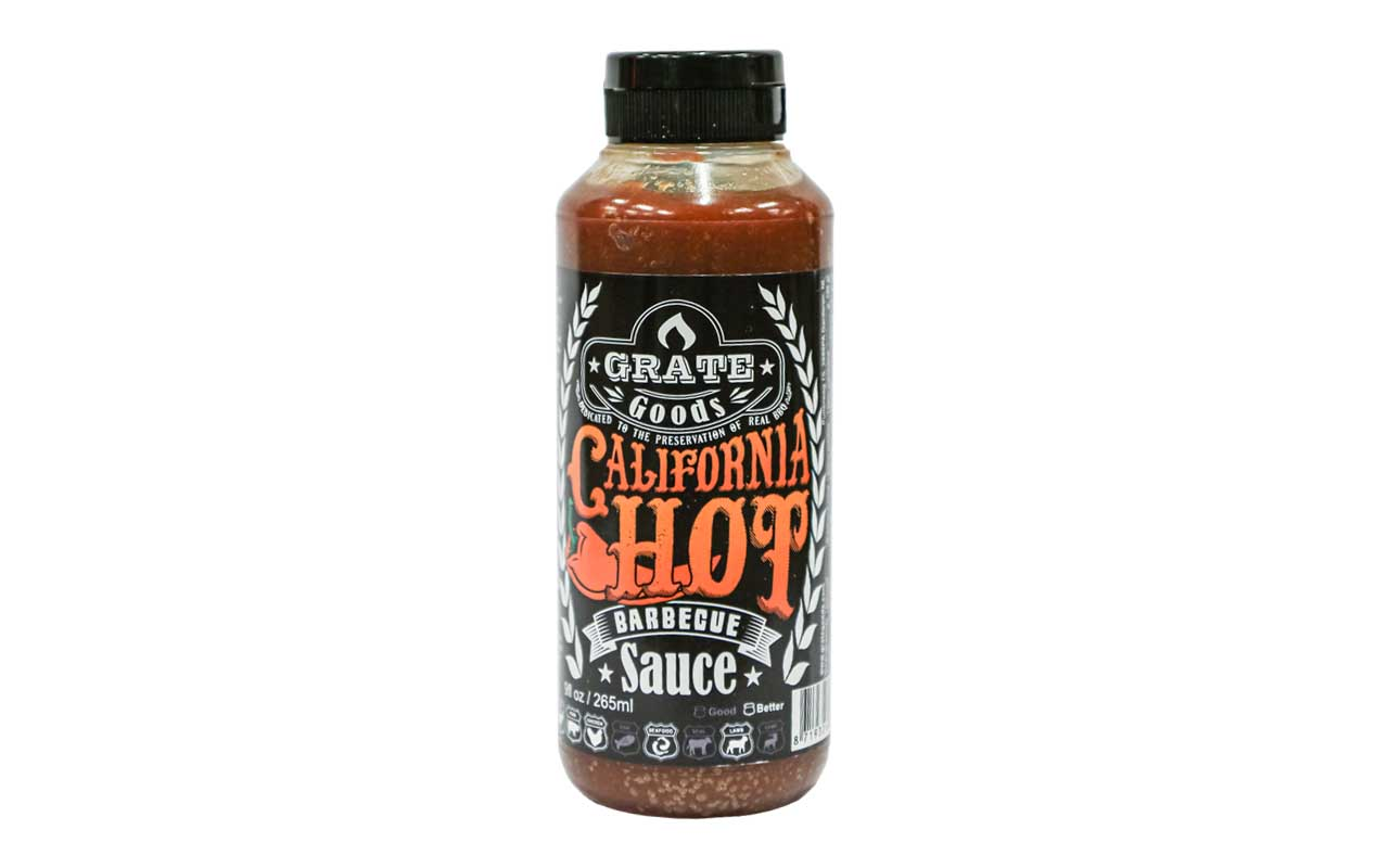 Grate Goods - California Hot BBQ Sauce 265 ml