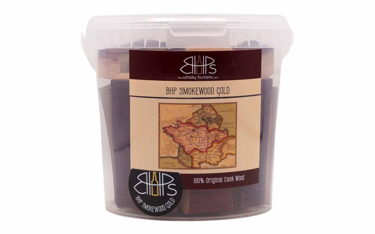 BHP - Smokewood Gold - Eimer - Chateau Smith Haut Lafitte French Redwine Cask - Chunks