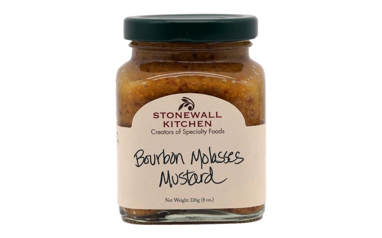 Stonewall - Kitchen Bourbon Molasses Mustard - 226g