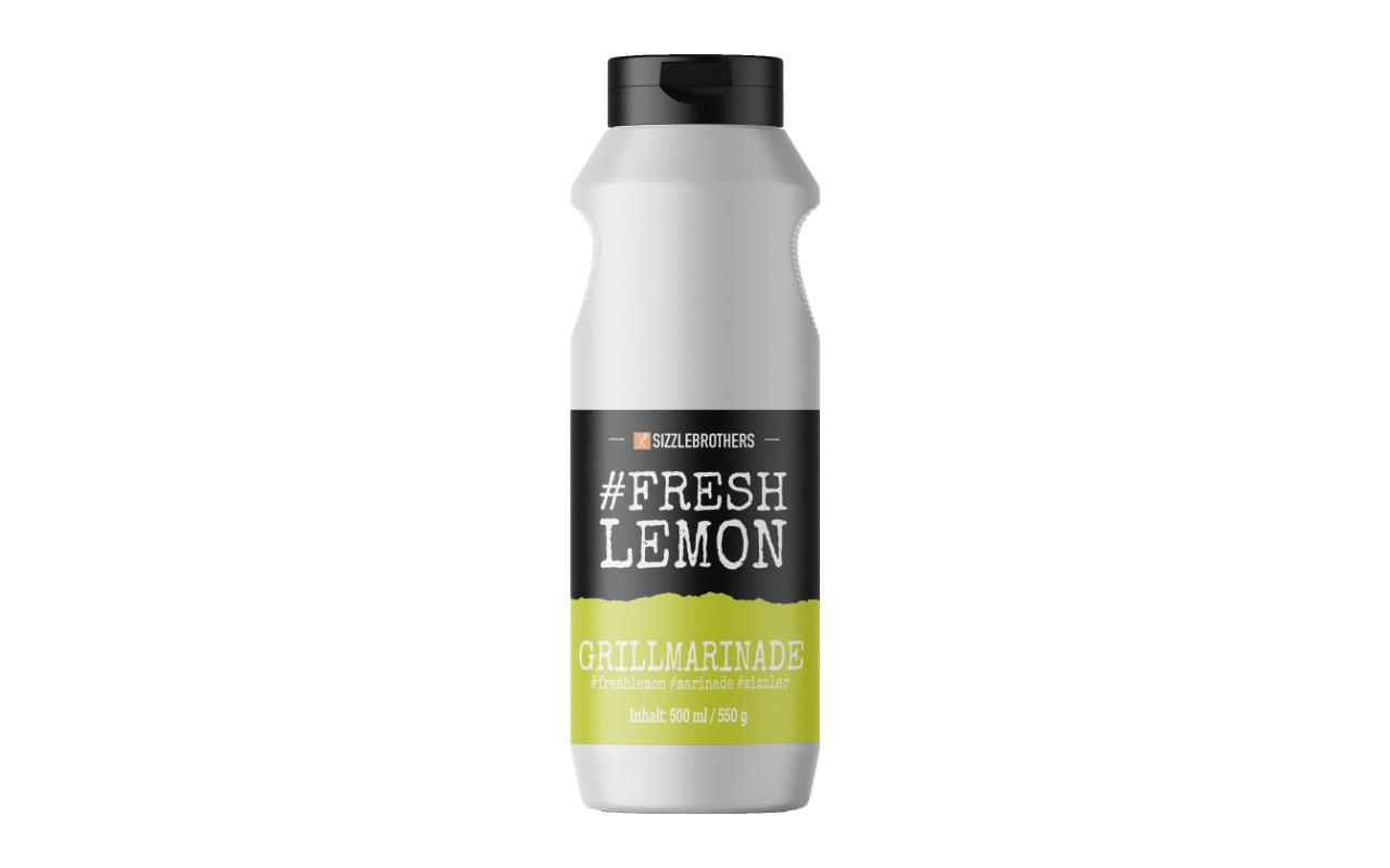 Sizzlebrothers #FreshLemon – Grillmarinade 500ml