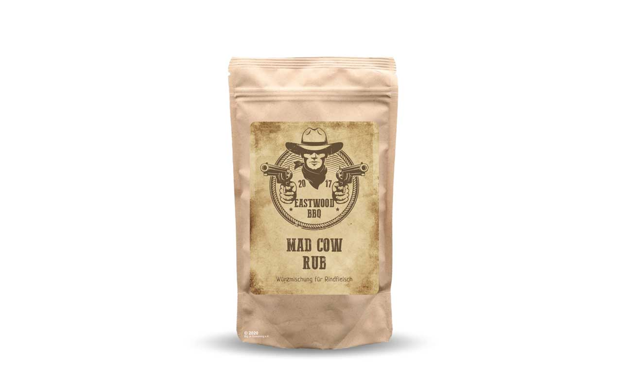 Eastwood BBQ - Mad Cow Rub 100g Beutel