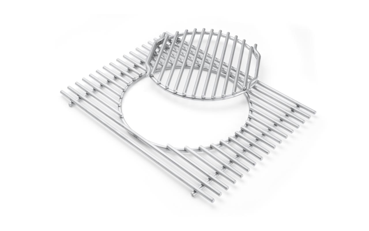 Weber Grillrost-Einsatz - Gourmet BBQ System - Edelstahl, für Summit® 400-/600-Serie Art.-Nr.: 7585