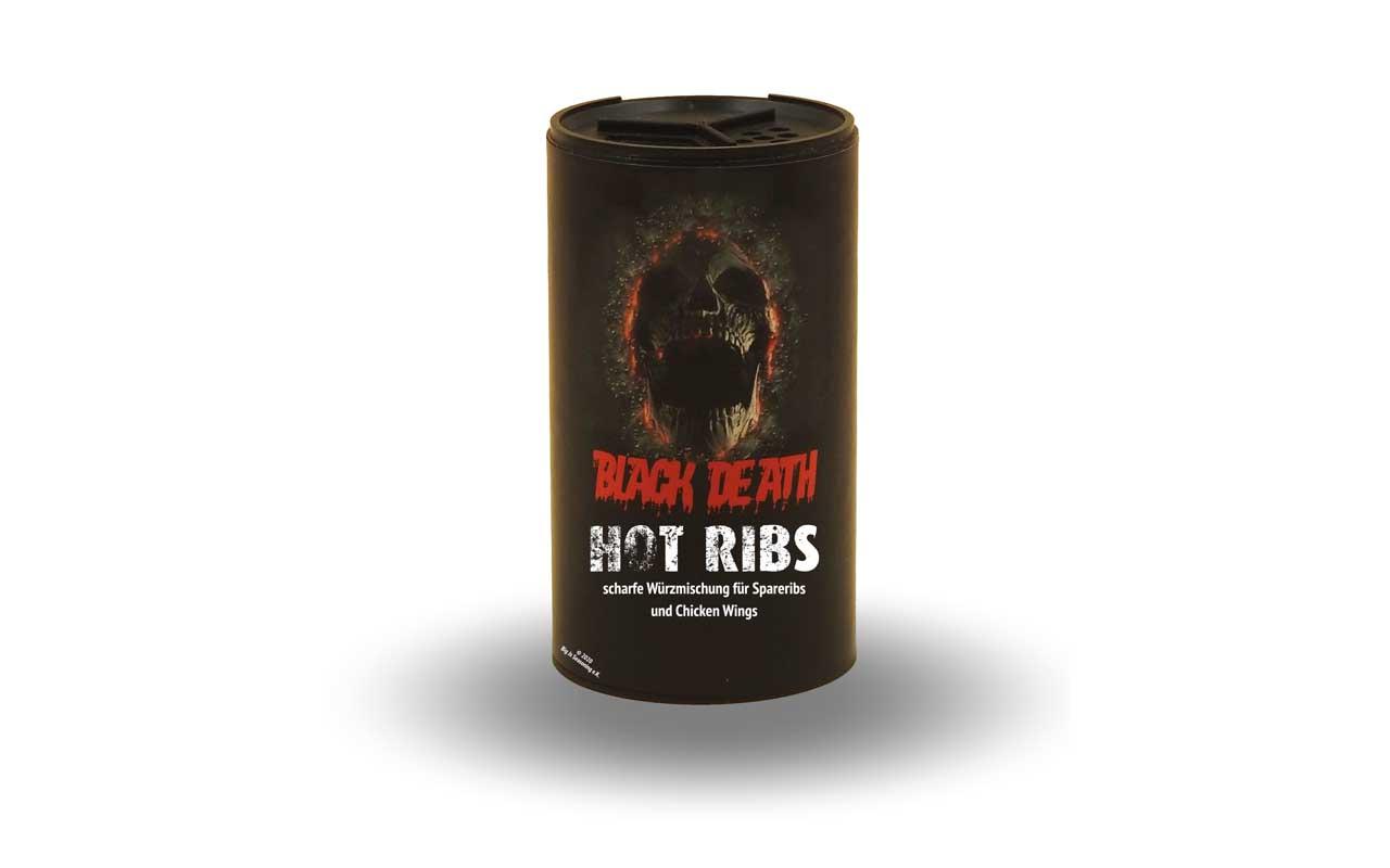 Black Death - Hot Ribs 120g Streuer