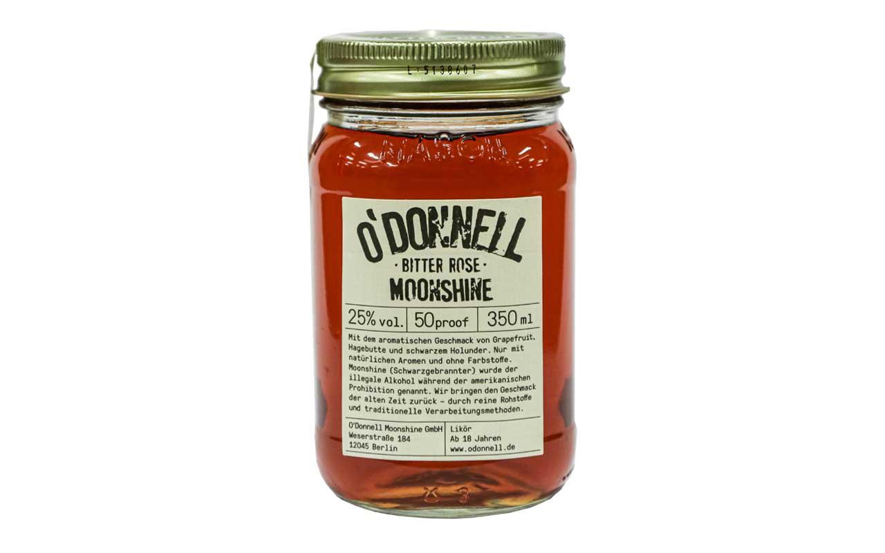O'DONNELL MOONSHINE Bitter Rose (25% vol.) 350 ml