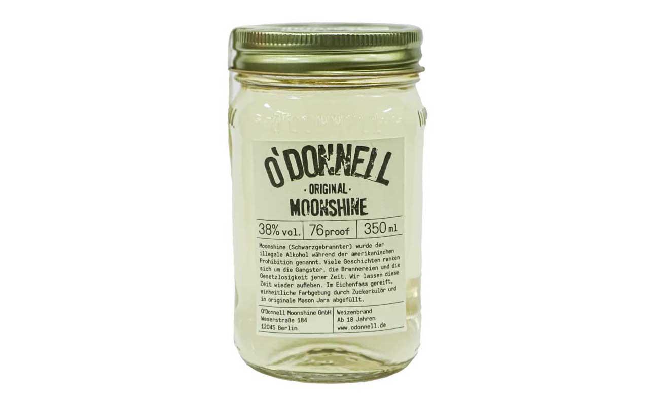 O'DONNELL MOONSHINE Original (38% vol.) 350 ml