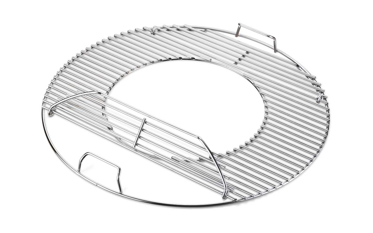 Weber Grillrost-Einsatz - Gourmet BBQ System - für Holzkohlegrills mit 57 cm  Art.-Nr.: 8835