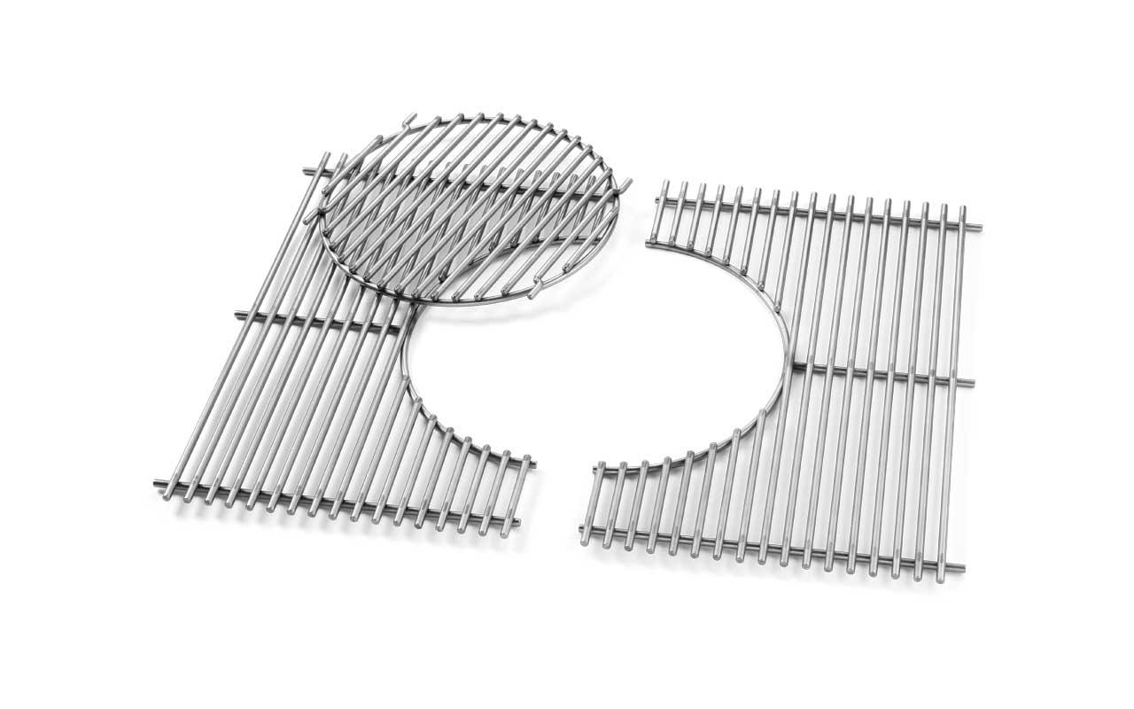 Weber Grillrost-Einsatz - Gourmet BBQ System - Edelstahl, für Genesis® 300-Serie  Art.-Nr.: 7587