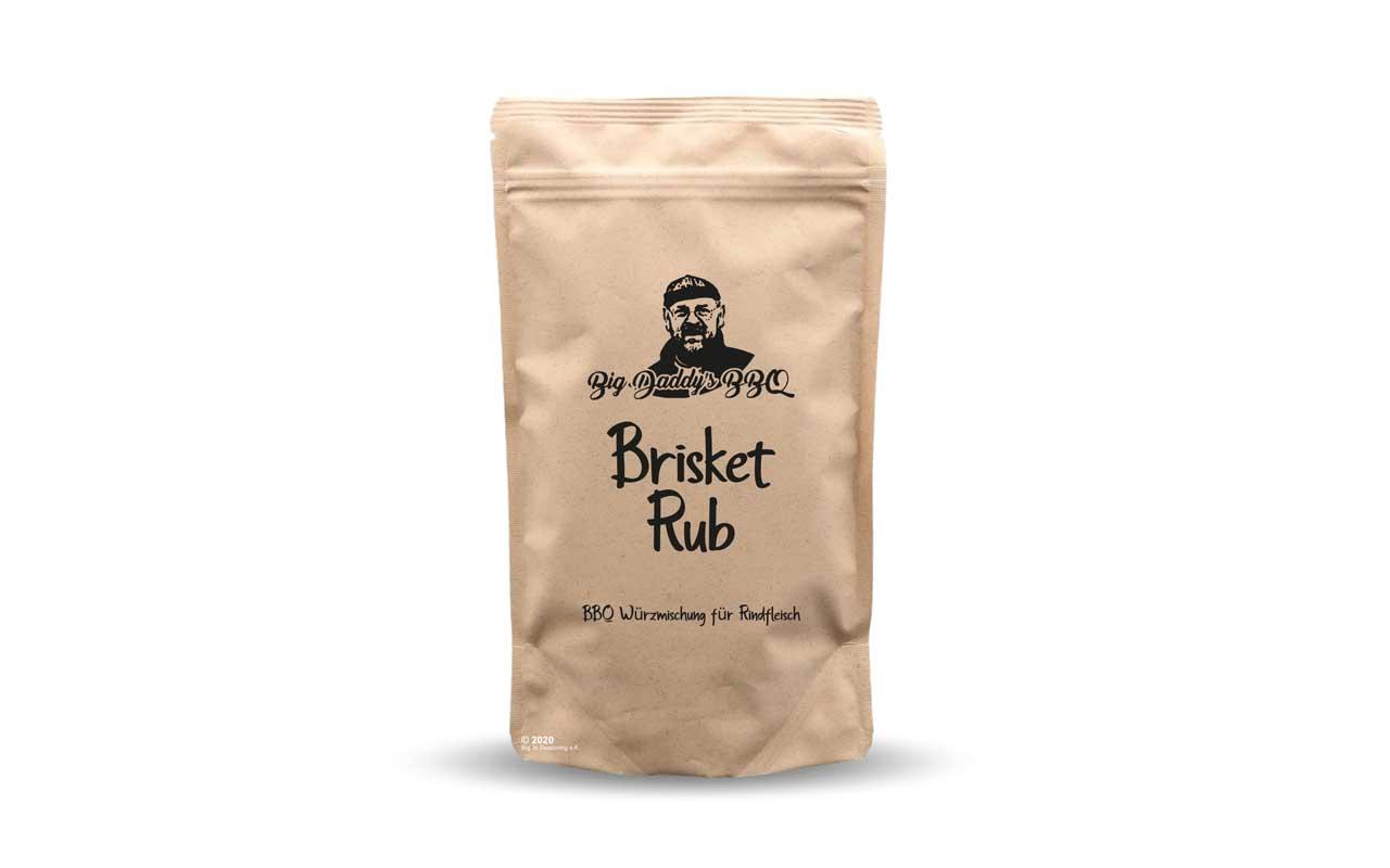 Big Daddys BBQ - Brisket Rub 100g Beutel