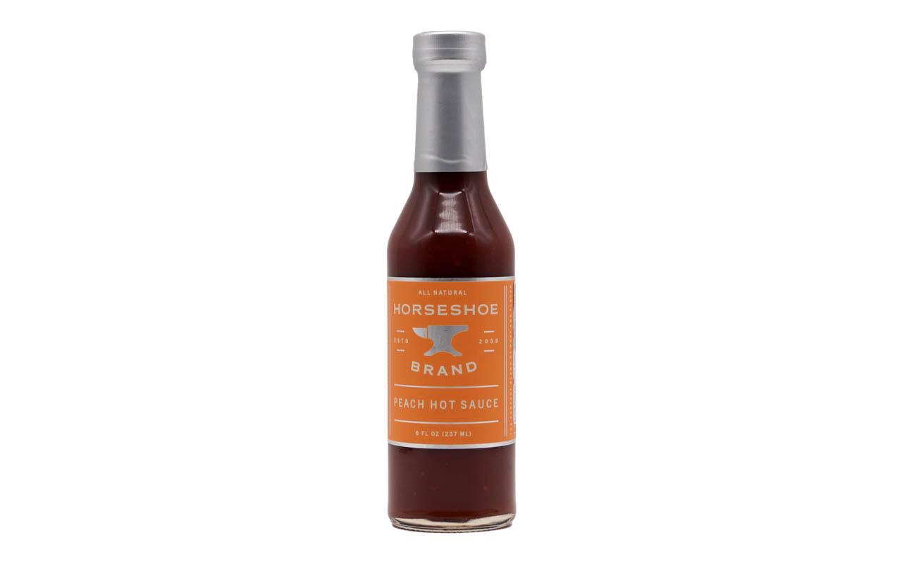 Horseshoe Brand - Peach Hot Sauce Natural - 237ml