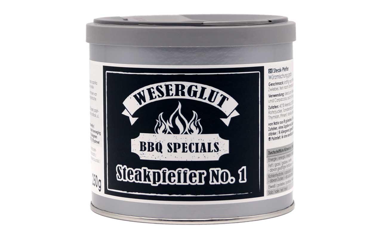 Weserglut - Steakpfeffer No.1 BBQ  Specials