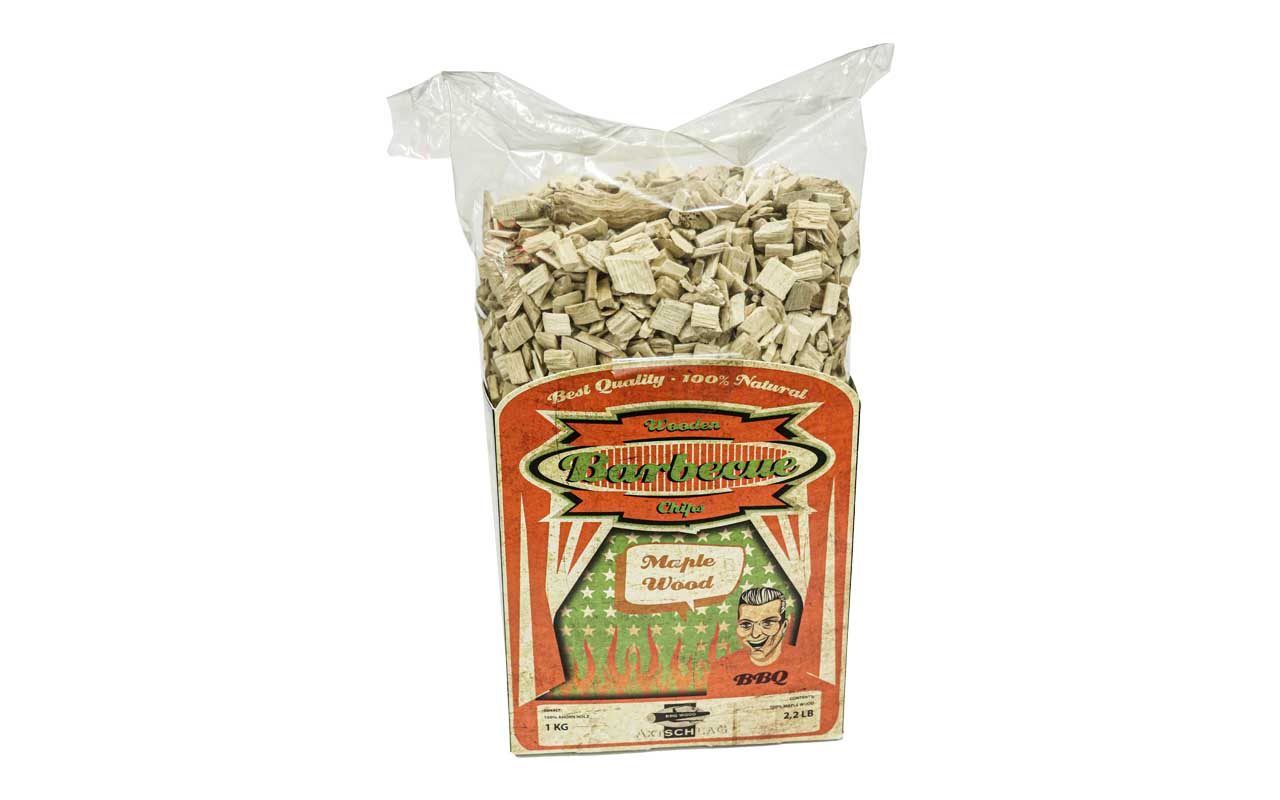 Axtschlag - Maple Wood - Barbecue Wooden Chips - 1kg