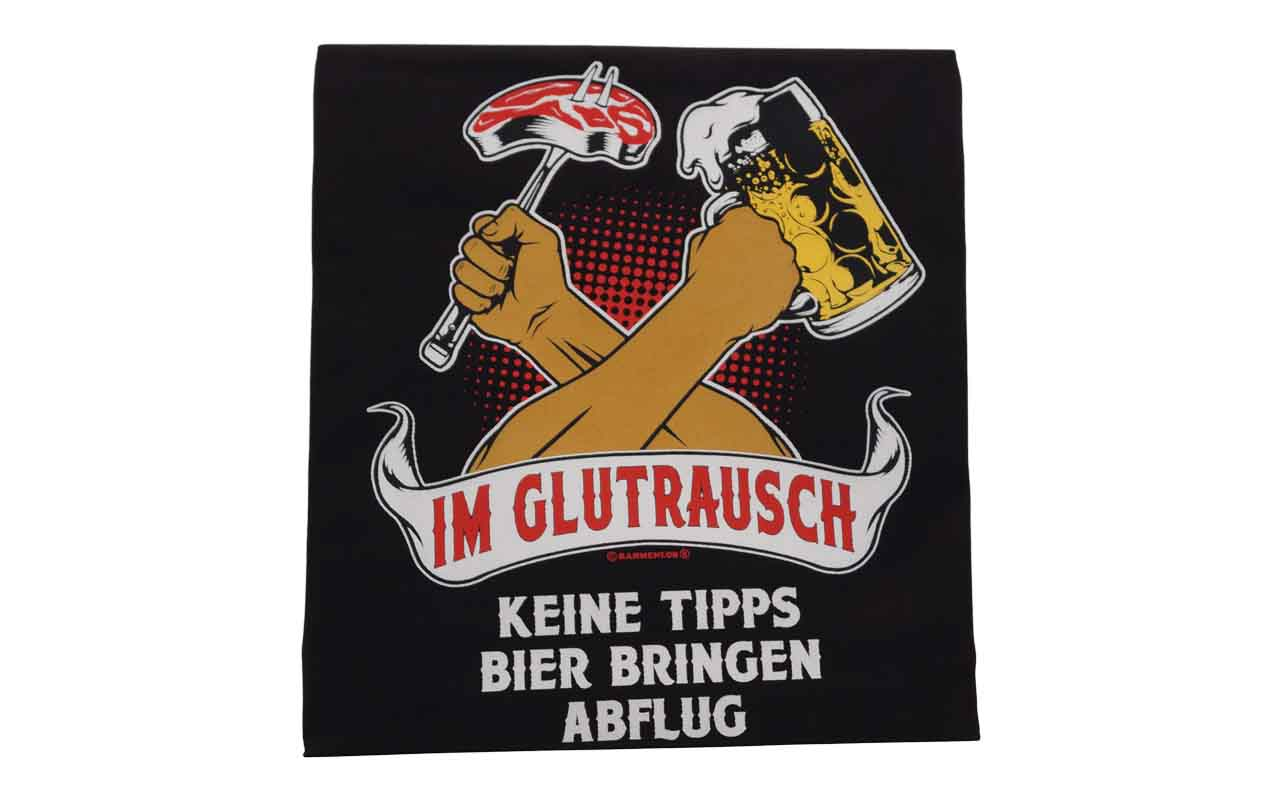 Rahmenlos - Grillschürze - Glutrausch keine Tipps Bier bringen