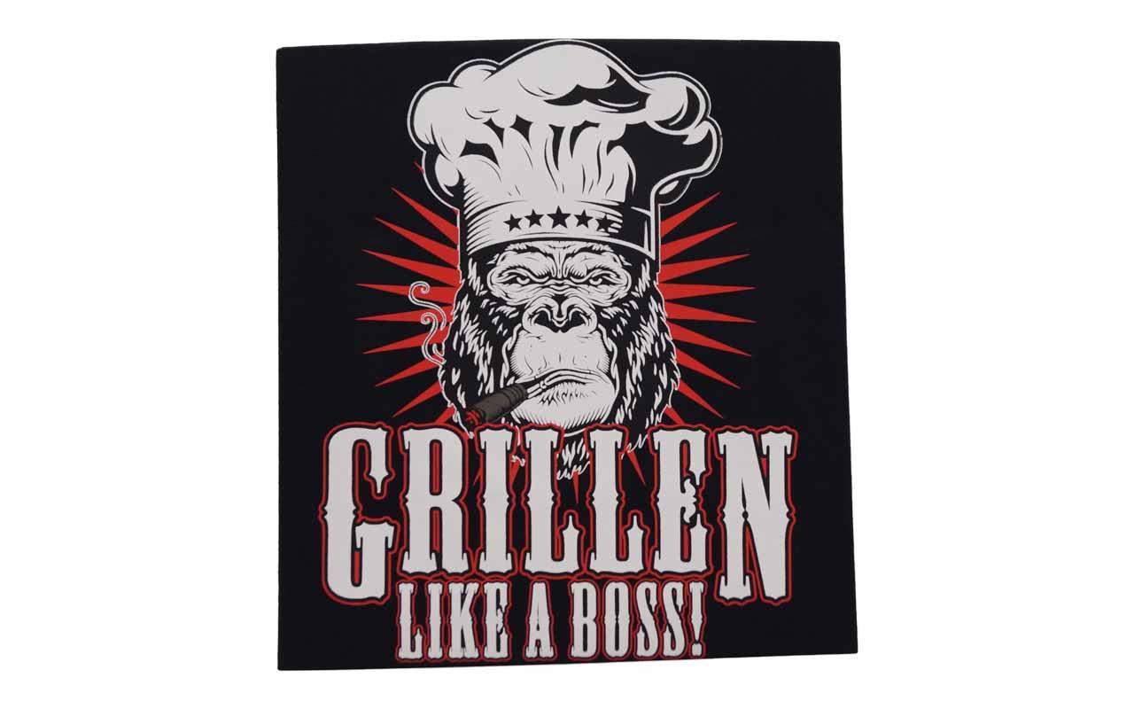 Rahmenlos - T-Shirt - Grillen - Like A Boss