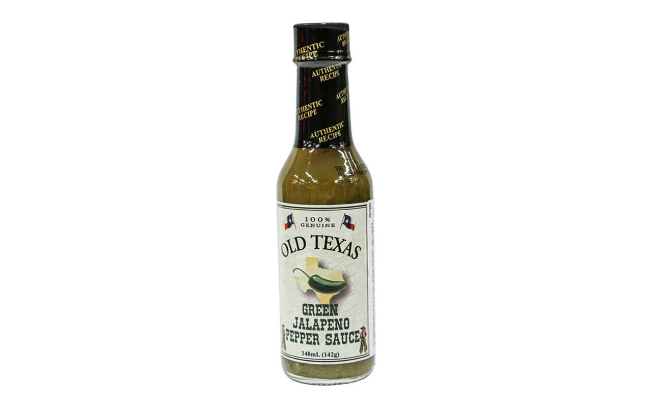 Old Texas Green Jalapeno Pepper Sauce - 148ml