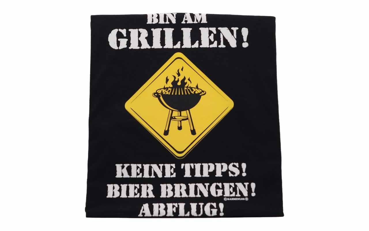 Rahmenlos - Grillschürze - Bin Am Grillen