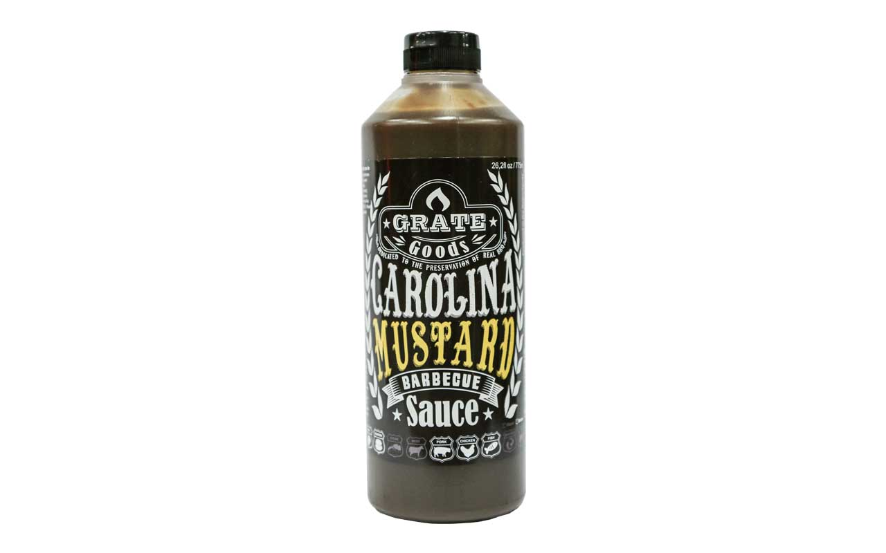 Grate Goods - Carolina Mustard BBQ Sauce 775 ml