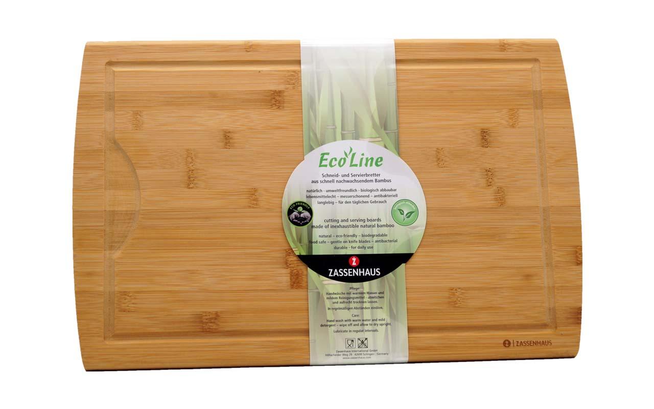Zassenhaus - Tranchierbrett Bambus - 42x27,5 cm