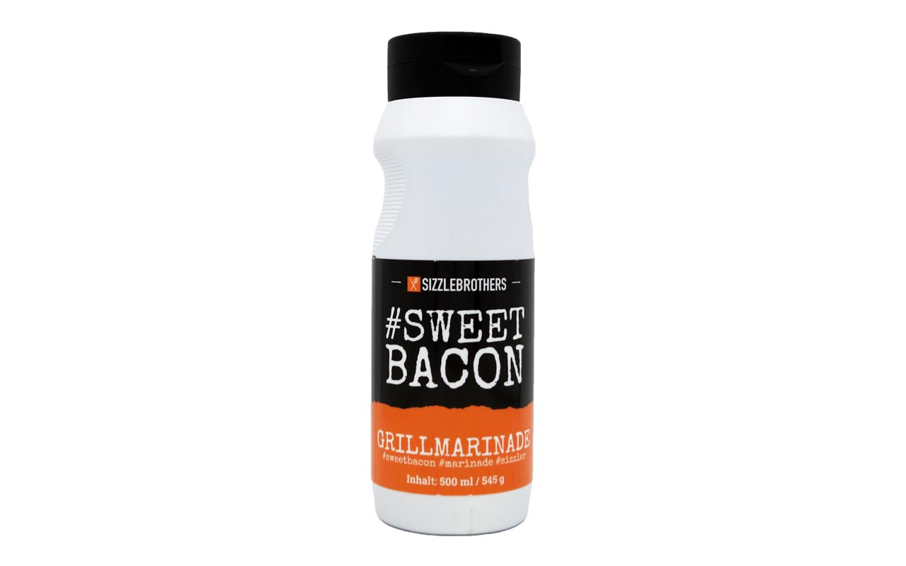 Sizzlebrothers  #SweetBacon – Grillmarinade 500ml
