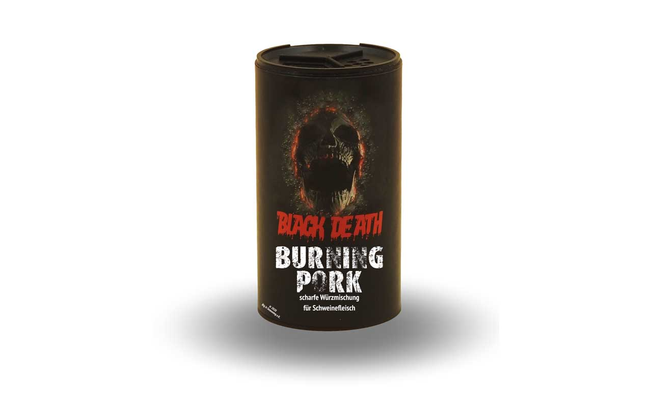 Black Death - Burning Pork 120g Streuer
