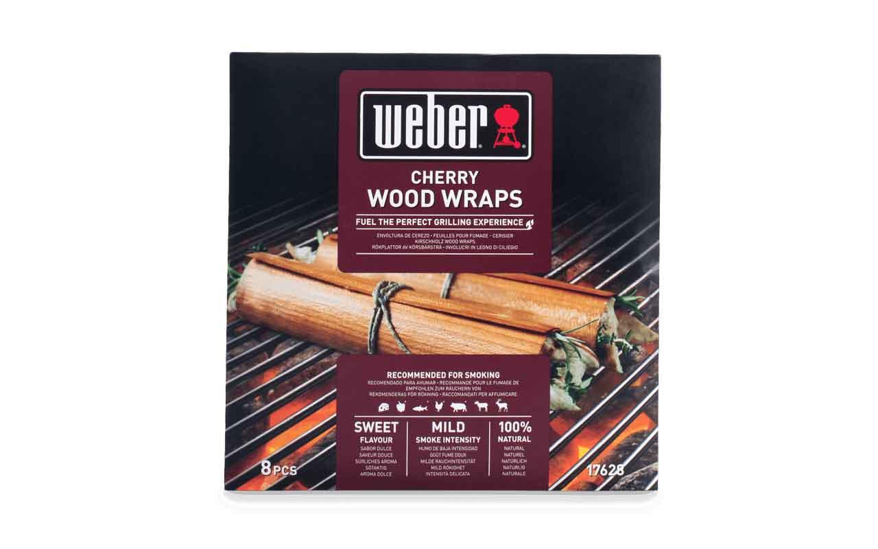 Weber Wood Wraps aus Kirschholz - 8 Stück  Art.-Nr.: 17628