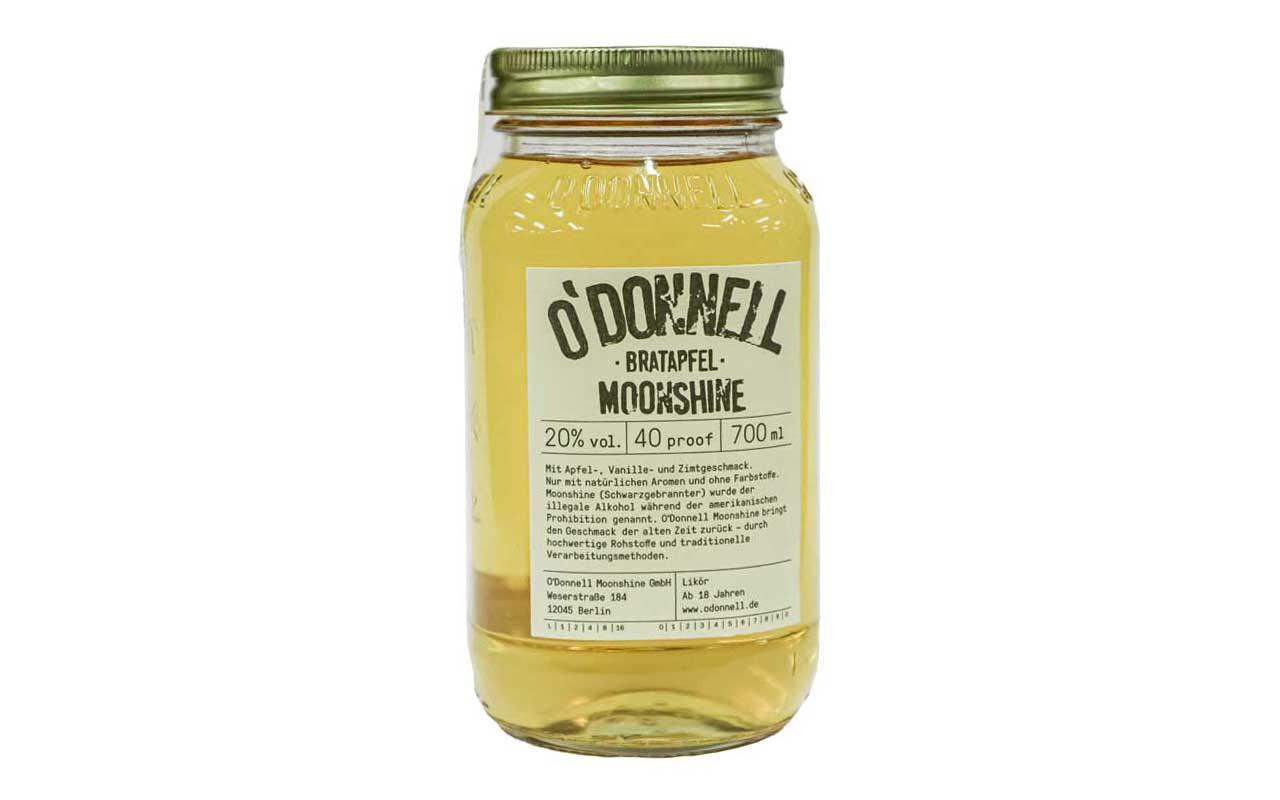 O'DONNELL MOONSHINE Bratapfel (20% vol.) 700 ml