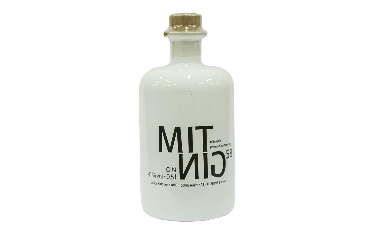 MITNIG 58 Gin (41% vol.)