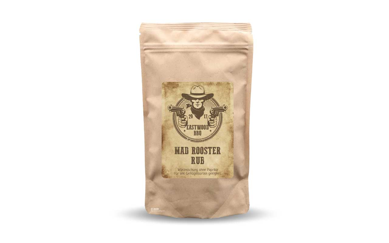 Eastwood BBQ - Mad Rooster Rub 300g Beutel