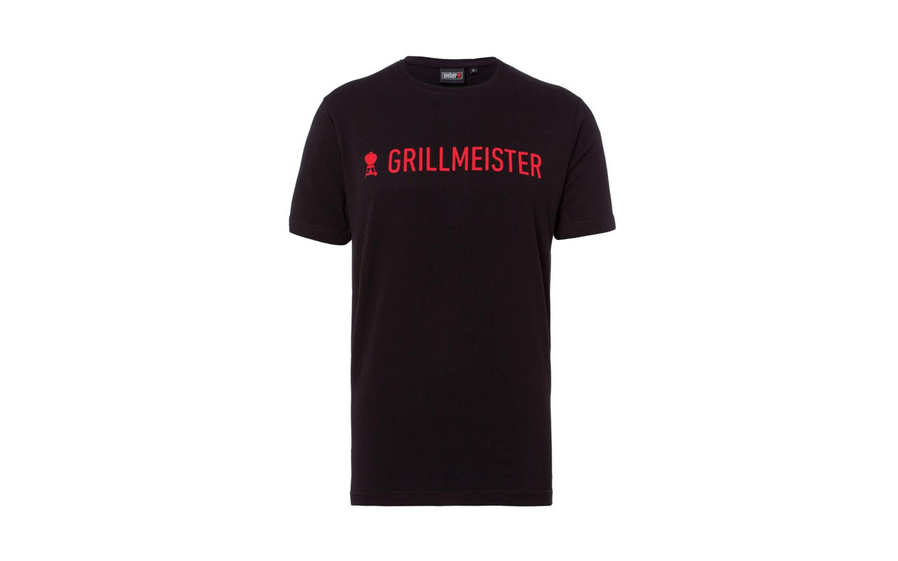 "Weber -  T-Shirt ""Grillmeister"" Herren Gr. L"