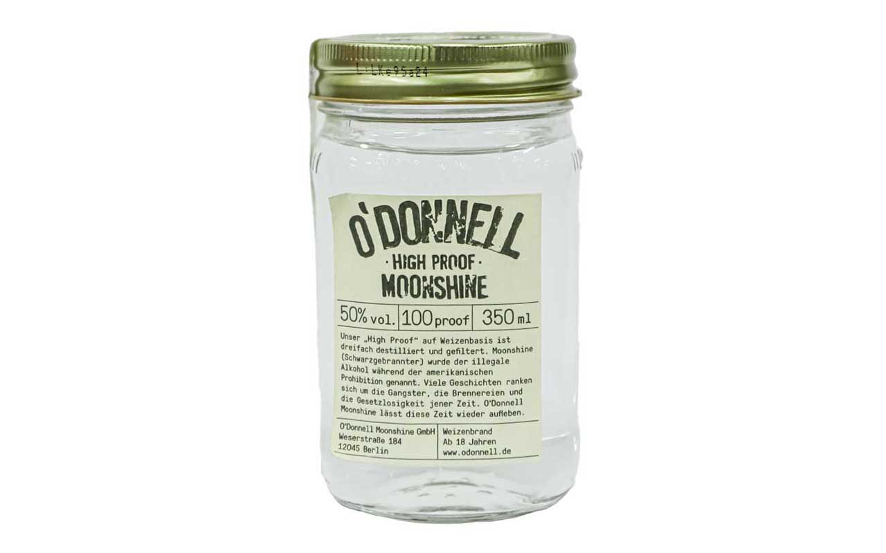 O'DONNELL MOONSHINE High Proof (50% vol.) 350 ml